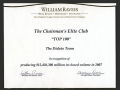 Chairman's Elite Club